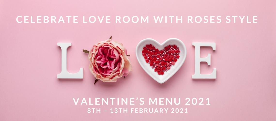 Blog Post Valentine's Menu 2021